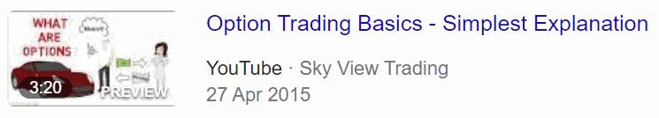 Options trading basics for beginners youtube