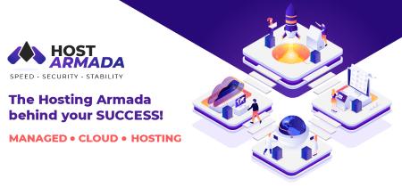 hostarmada vs. bluehost fast secure stable managed cloud hosting